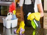 Уборка большой кухни