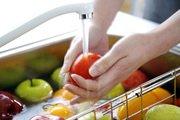 Мытье продуктов